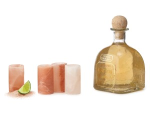 Himalayan Salt Tequila Glasses from Uncommon Goods