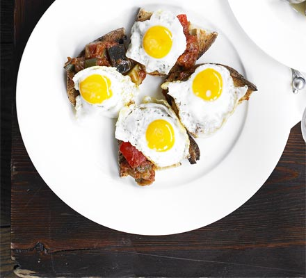 quail egg tapas